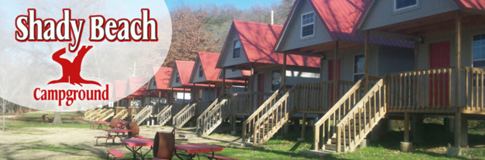 Camping Cabins – Shady Beach Campground in Noel Missouri